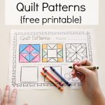 Symmetry Quilt Patterns | Free Printables | Kindergarten Math   Quilt Patterns Free Printable