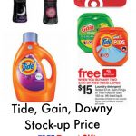 Target Laundry Detergent Deals + Tide & Downy Printable Coupons   Free Printable Gain Laundry Detergent Coupons