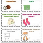 Task Cards   Nouns' Plural 6 Worksheet   Free Esl Printable   Free Printable Noun Picture Cards