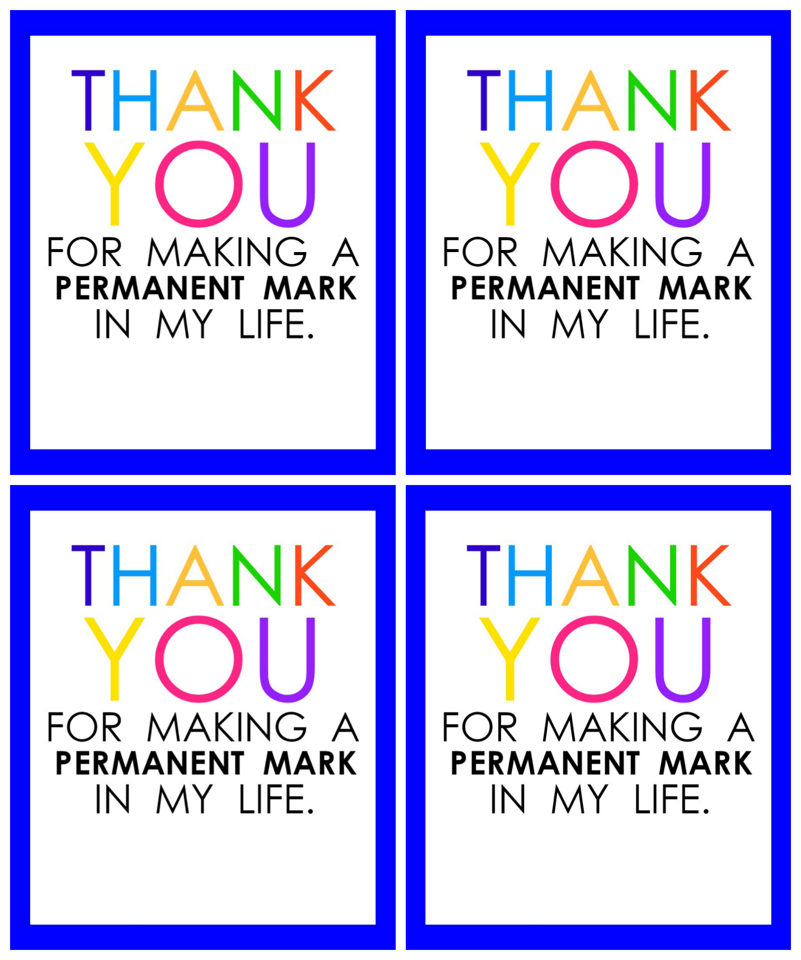 Teacher Appreciation Marker Gift Tag (Free Printable - Free Printable Tags For Teacher Appreciation