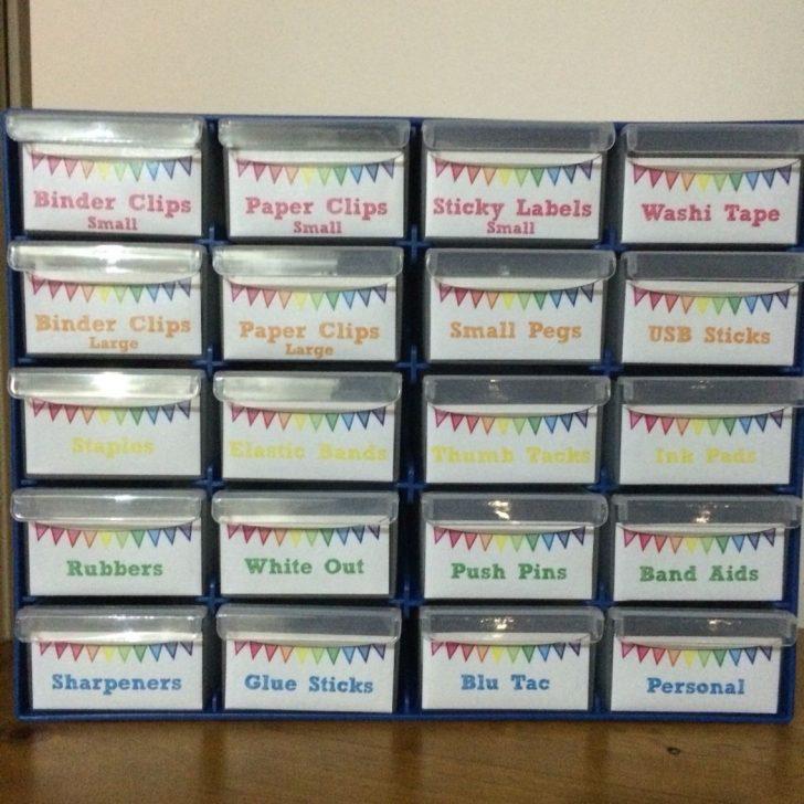 Free Printable Teacher Toolbox Labels