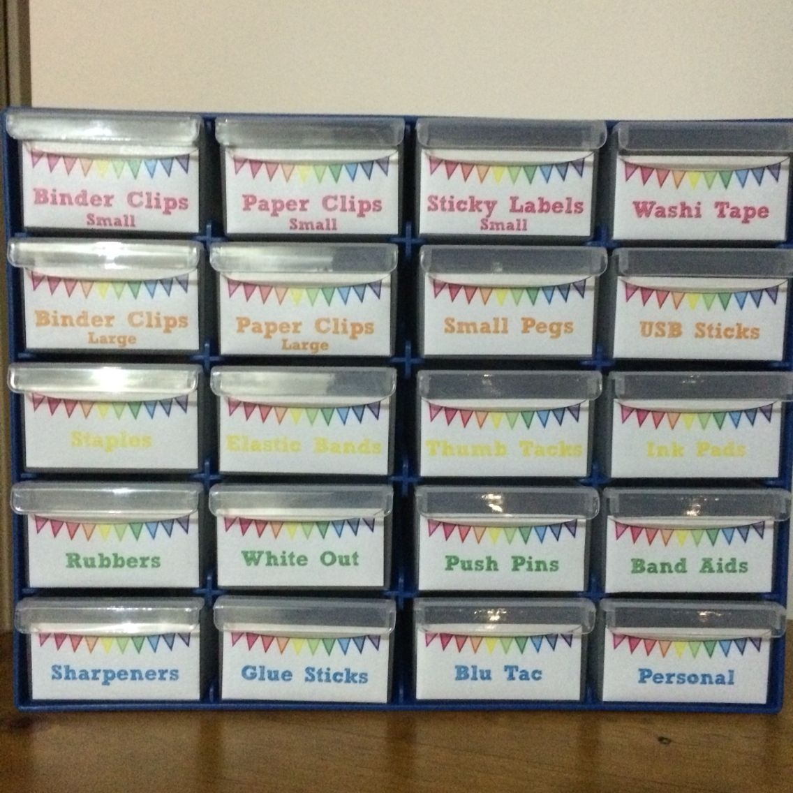 Teacher Toolbox Using Storage System From Bunnings (Australia - Free Printable Teacher Toolbox Labels