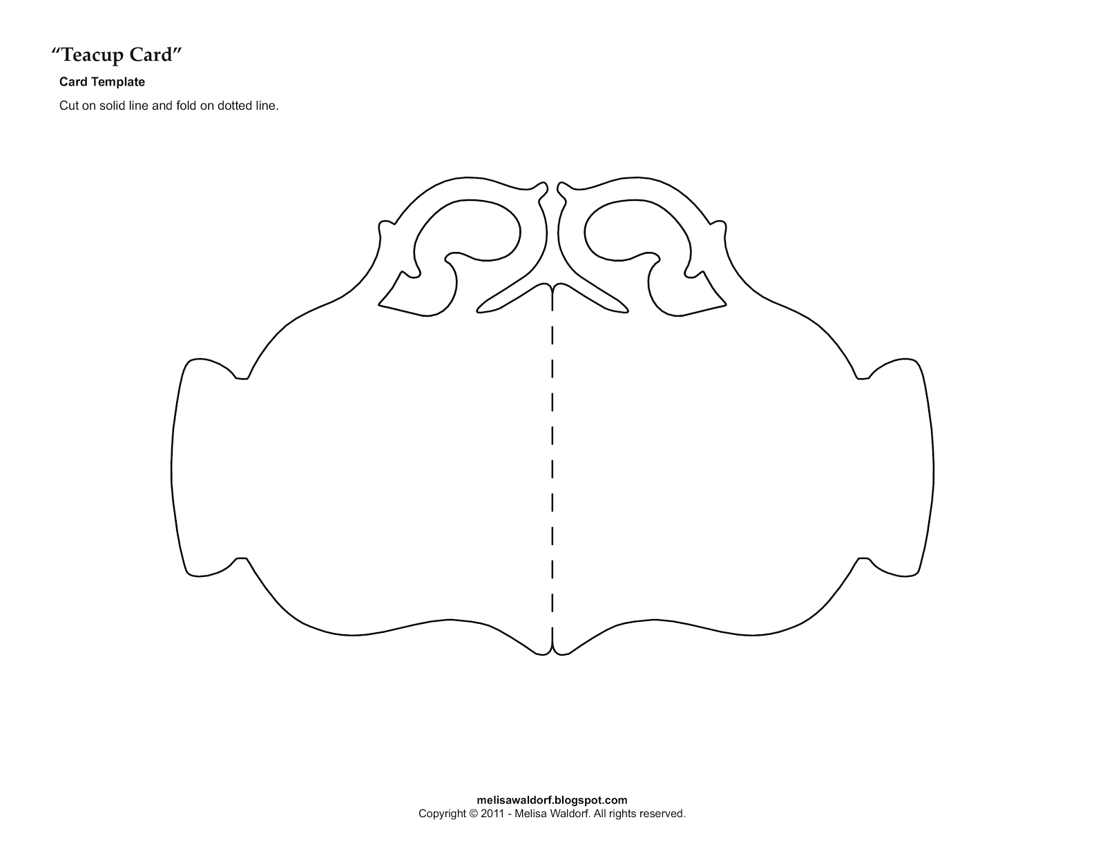 Template For Tea Cup | Teacup Magnolia | Projects To Try | Paper Tea - Free Printable Teacup Template