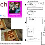 Templates   Dollhouse Miniature Madness And Tutorials   Free Printable Dollhouse Furniture Patterns