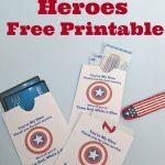 Thank A Veteran Cards Free Printable   Organized 31   Military Thank You Cards Free Printable