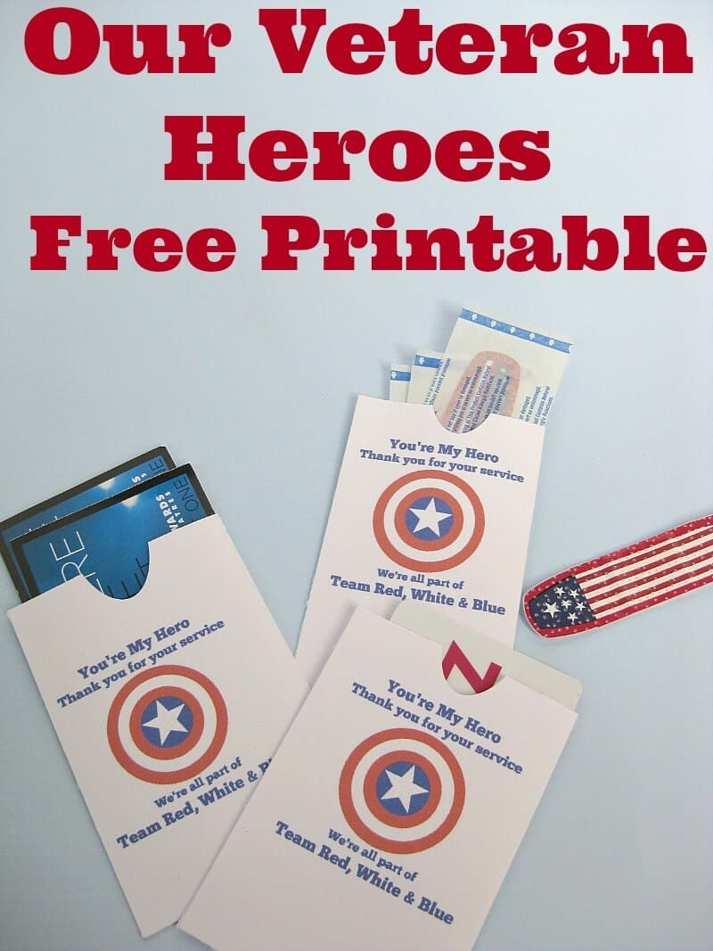 Thank A Veteran Cards Free Printable - Organized 31 - Military Thank You Cards Free Printable