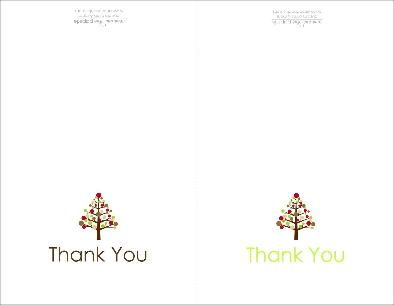 Thank You Cards Printable | Printable | Free Printable Christmas - Christmas Thank You Cards Printable Free