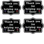Thank You For Helping Me Grow Printable + 40+ Teacher Appreciation   Thanks For Helping Me Grow Free Printable