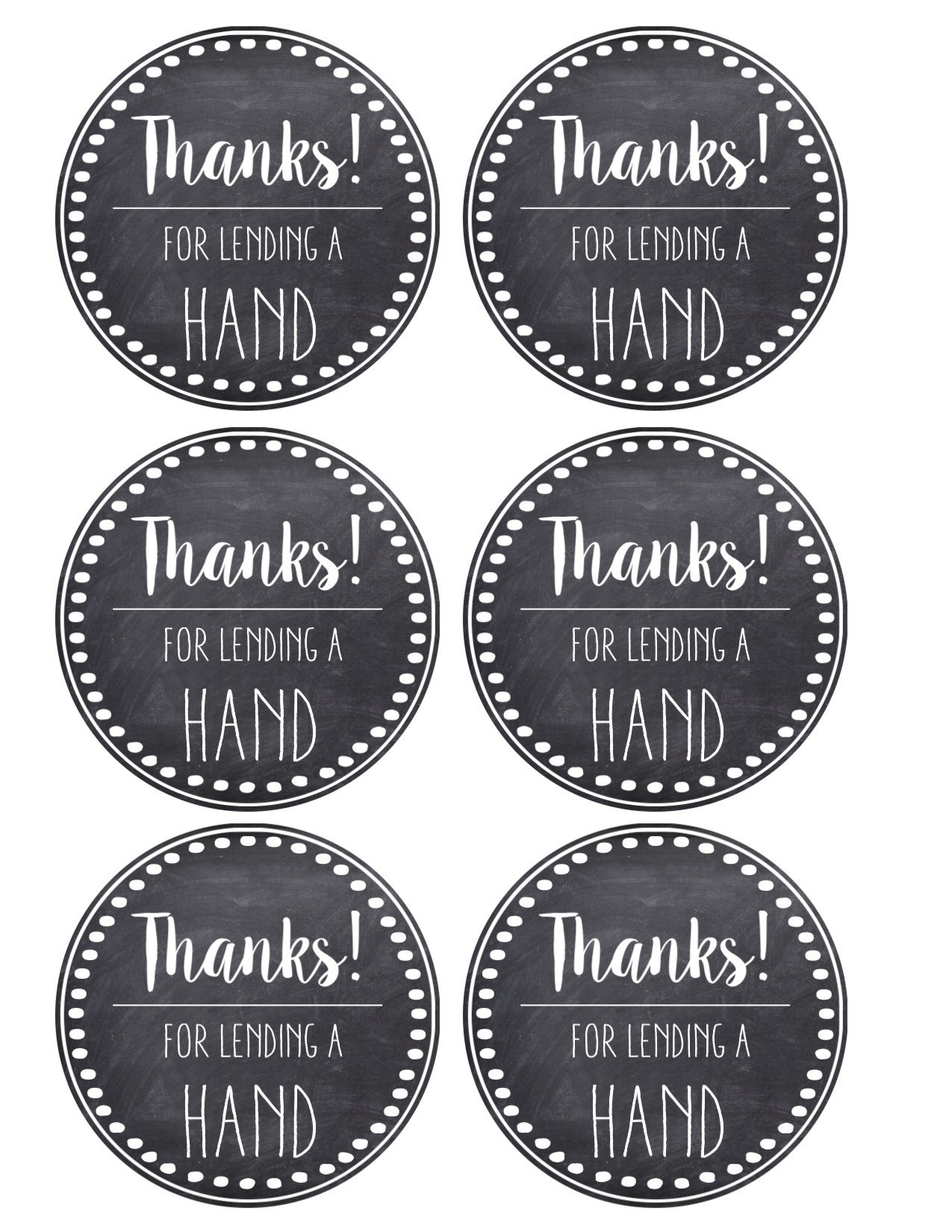 Thank You & Teacher Appreciation Tags Free Printable - Paper Trail - Free Printable Tags For Teacher Appreciation