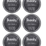 Thank You & Teacher Appreciation Tags Free Printable   Paper Trail   Free Printable Thank You Tags