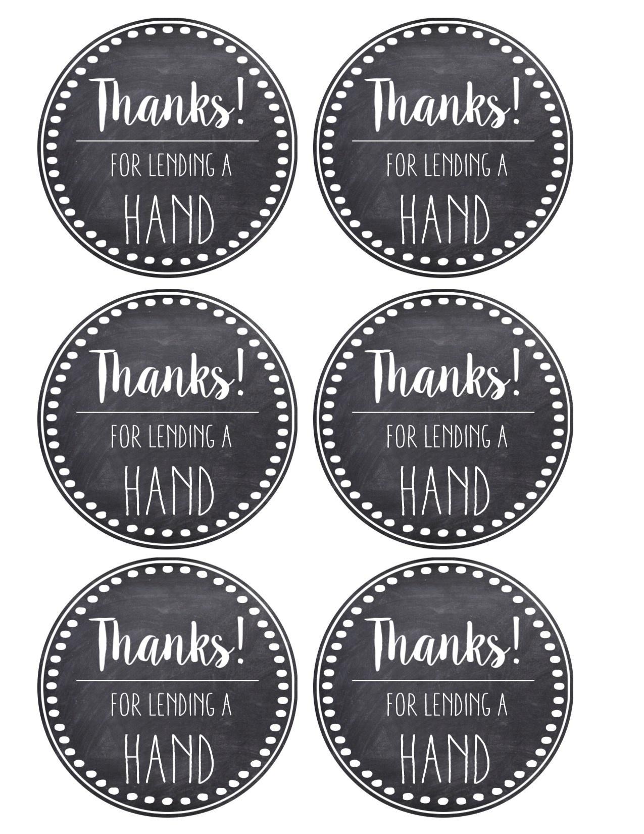 Thank You & Teacher Appreciation Tags Free Printable - Paper Trail - Free Printable Thank You Tags