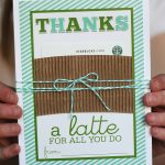 Thanks A Latte Card You Can Print For Free | Eighteen25   Administrative Professionals Cards Printable Free