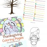 Thanksgiving Printables For Kids   Natural Beach Living   Free Printable Kindergarten Thanksgiving Activities