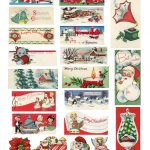 The Cheeky Seagull: Free Printable Vintage Christmas Tags!!   Free Printable Vintage Christmas Images