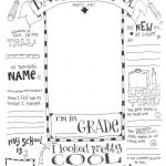 The Coolest Free Printable End Of School Coloring Page | Skip To My Lou   Free Printable First Day Of School Coloring Pages