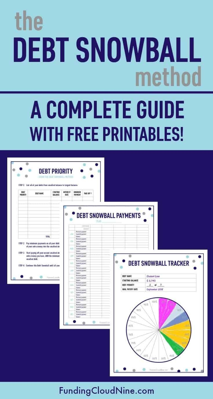 The Debt Snowball Method: A Complete Guide With Free Printables - Debt Snowball Worksheet Free Printable
