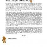 The Gingerbread Man (Prepositions) Worksheet   Free Esl Printable   Free Printable Version Of The Gingerbread Man Story