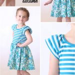 "The ""hello Spring"" Girls' Dress 