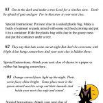 The Moonlight Factory: Halloween Scavenger Hunt Printable   Free Printable Halloween Play Scripts