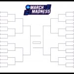 The Printable March Madness Bracket For The 2019 Ncaa Tournament   Free Printable March Madness Bracket