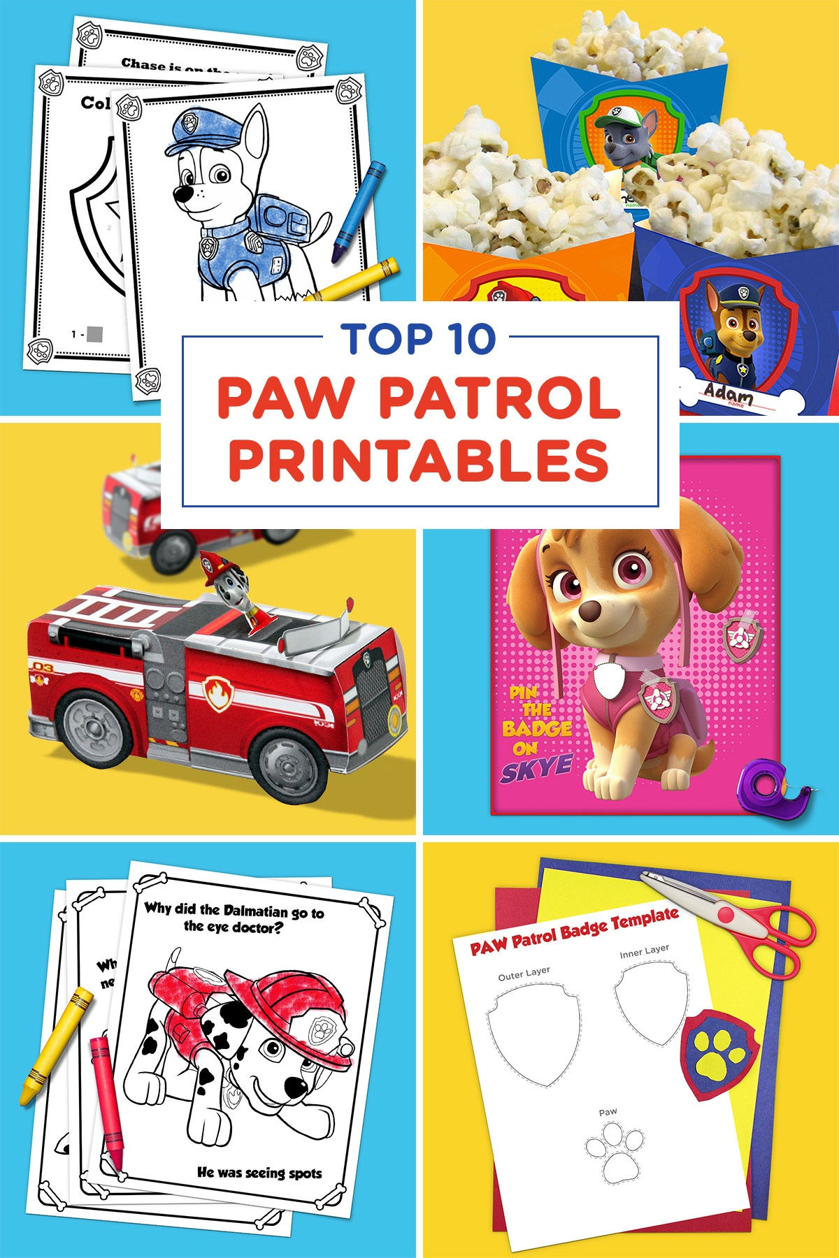 The Top 10 Paw Patrol Printables Of All Time | Nickelodeon Parents - Free Paw Patrol Birthday Printables
