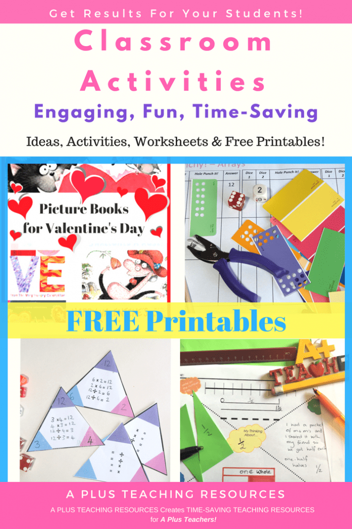 The Ultimate Collection Of Free Teacher Worksheets For Primary - Free Teacher Resources Printables