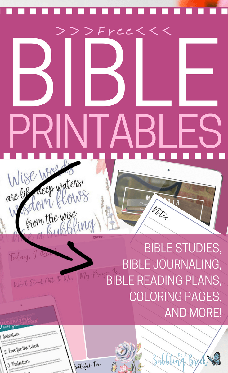 The Ultimate List Of Free Bible Printables - Free Printable Bible Studies For Women