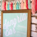 The Ultimate Sangria Bar  Summer's Best Drink Station   Free Sangria Bar Sign Printable