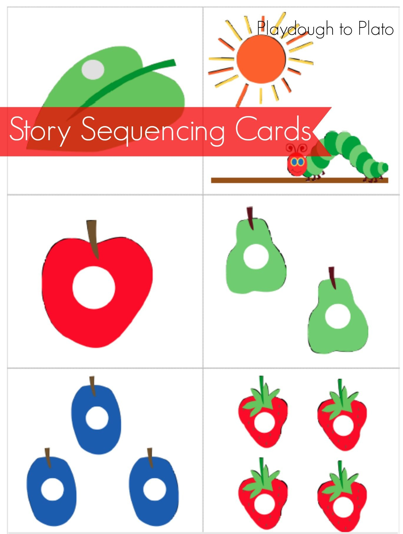 The Very Hungry Caterpillar Free Printables - Google Search | Eric - The Very Hungry Caterpillar Free Printables