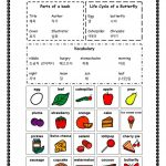 The Very Hungry Caterpillar Vocabulary And Bingo Worksheet   Free   The Very Hungry Caterpillar Free Printables