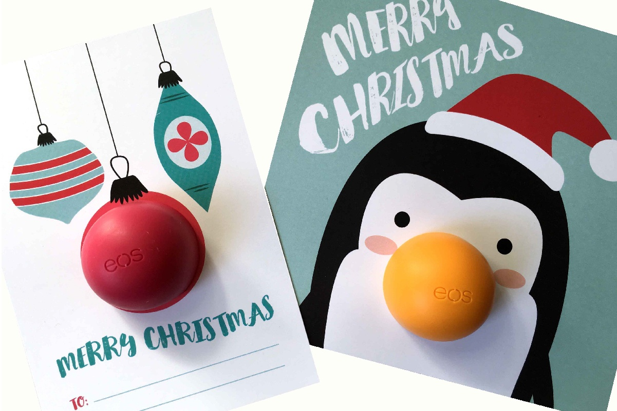 These Eos Christmas Free Printables Are The Best Small Gift Idea Ever - Free Printable Eos Christmas Card