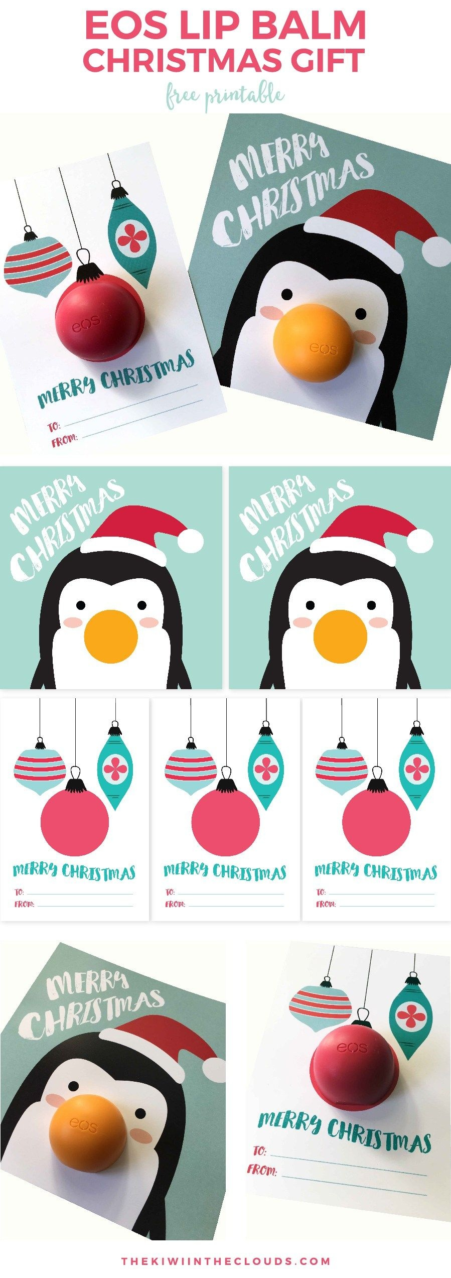 These Eos Christmas Free Printables Are The Best Small Gift Idea - Free Printable Eos Christmas Card