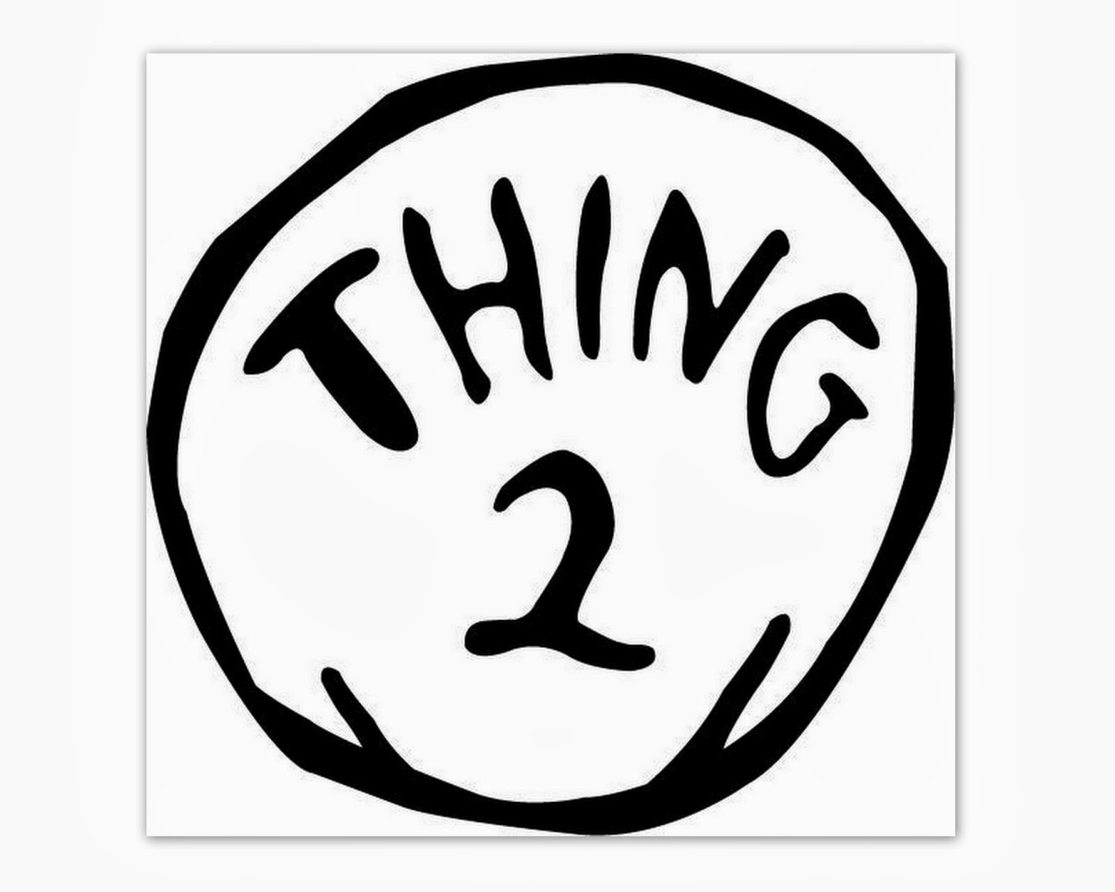 Thing 1 And Thing 2 Free Printable Template (77+ Images In - Thing 1 Thing 2 Free Printables