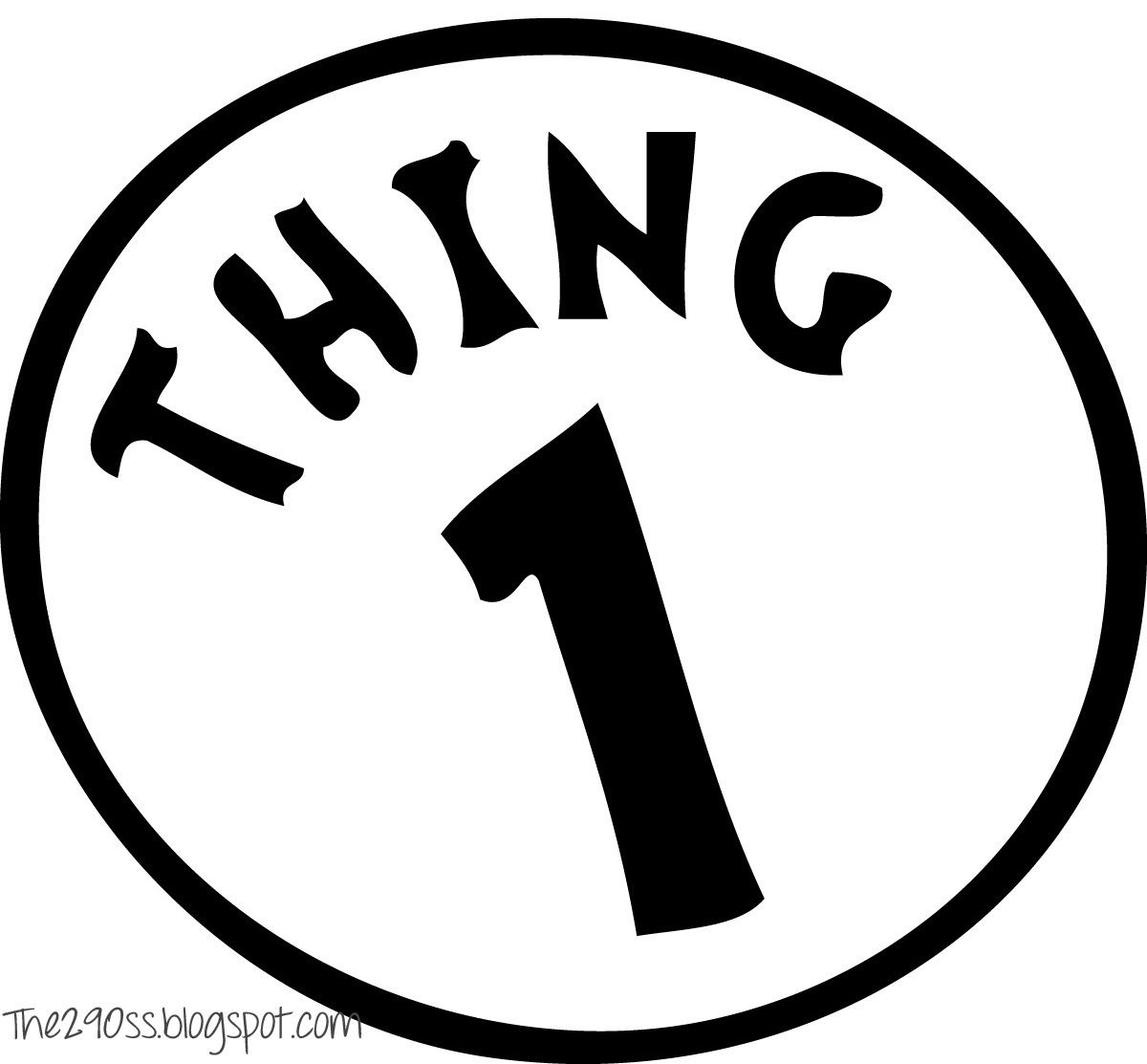 Thing One And Thing Two Treat Bags (Free Printables) | Twins | 1St - Thing 1 Thing 2 Free Printables