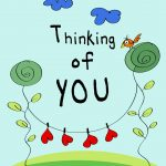 Thinking Of You   Love Card (Free) | Greetings Island   Free Printable Thinking Of You Cards