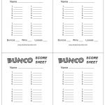This Is The Bunco Score Sheet Download Page. You Can Free Download   Free Printable Bunco Score Sheets