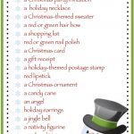 This Site Has Lots Of Free Printable Party Games And Activities For   Free Holiday Games Printable
