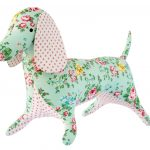 "Tilda Apple Butter Dapper Dachshund Sewing Kit | 24"" Tall | Tilda   Free Printable Dachshund Sewing Pattern"