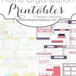 Time To Get Organized | Printables | Home Management Binder, Home   Free Home Organization Binder Printables