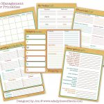 Tips For Creating Your Home Management Binder – Life More Simply   Free Home Organization Binder Printables
