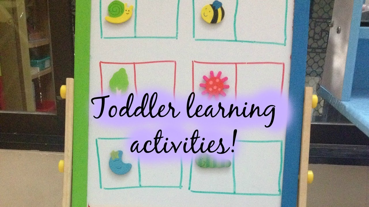 Toddler Learning Activities (With Free Printables) - 14/02/2015 - Jady A Free Printables
