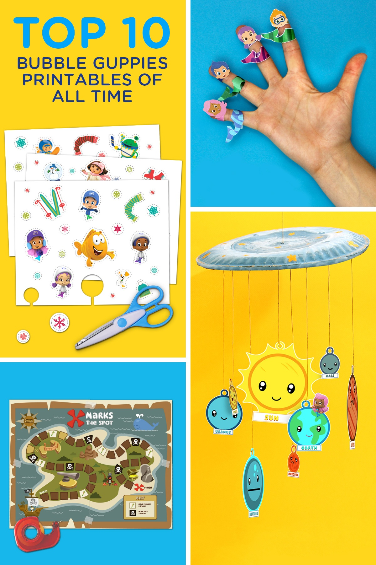 Top 10 Bubble Guppies Printables Of All Time | Nickelodeon Parents - Bubble Guppies Free Printables