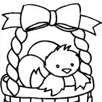 Top 10 Free Printable Easter Basket Coloring Pages Online | Coloring   Free Printable Easter Coloring Pages For Toddlers