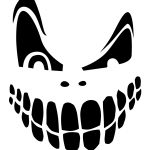 Top 100+ Jack O Lantern Faces Patterns Stencils Ideas   Halloween   Free Printable Scary Pumpkin Patterns