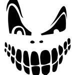 Top 100+ Jack O Lantern Faces Patterns Stencils Ideas   Halloween   Pumpkin Patterns Free Printable