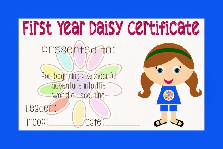Free Daisy Girl Scout Printables