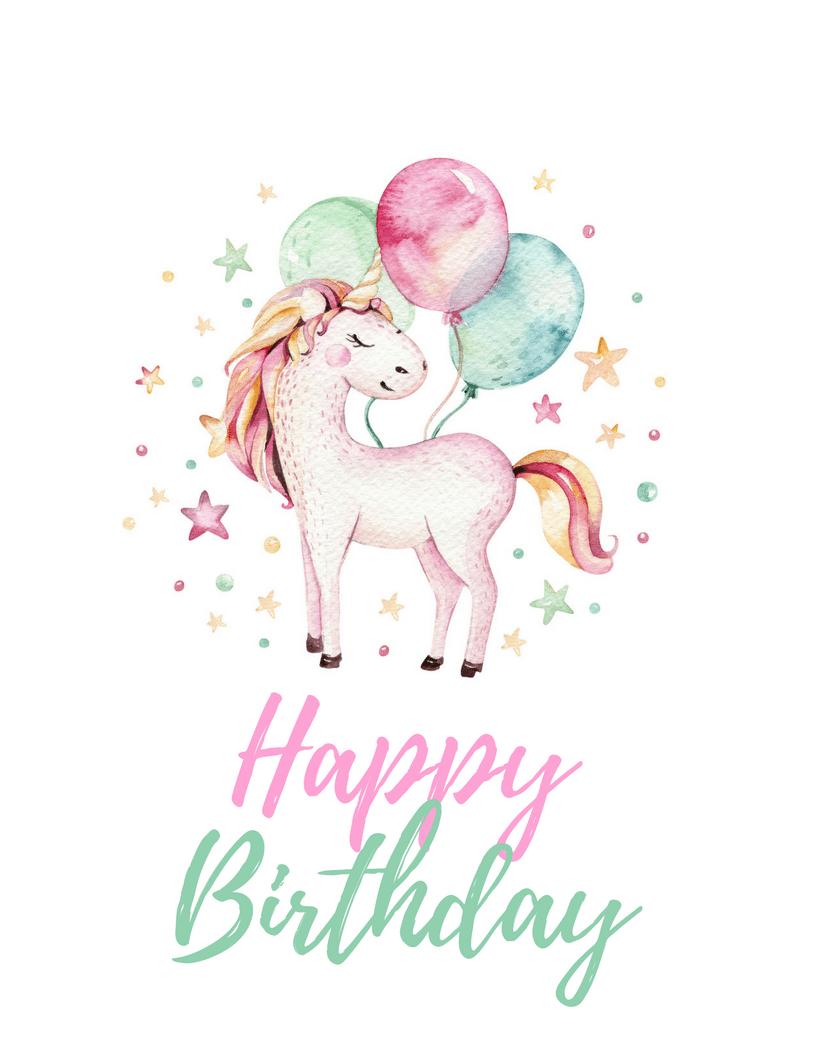 Unicorn Party Free Printables | Bautismo Cande | Unicorn Invitations - Free Unicorn Party Printables