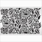 Unique Paisley Stencil Templates Free | Best Of Template   Free Printable Lace Stencil