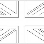 United Kingdom Union Jack   Flags Coloring Pages For Kids To Print   Free Printable Union Jack Flag To Colour
