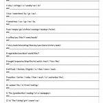 Unscramble Sentences Worksheet   Free Esl Printable Worksheets Made   Free Printable Scrambled Sentences Worksheets